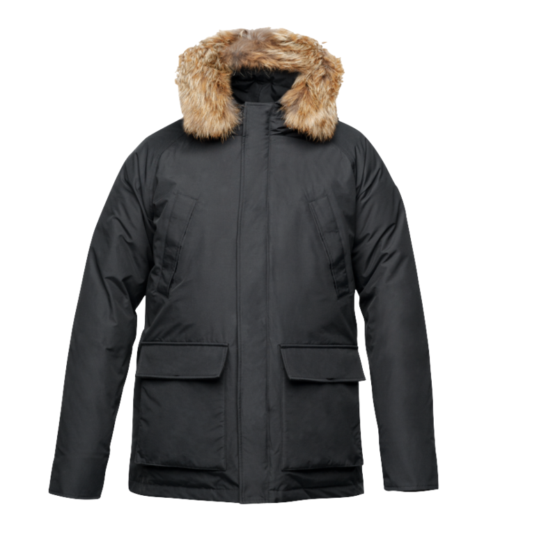 Heritage Men Parka - Black