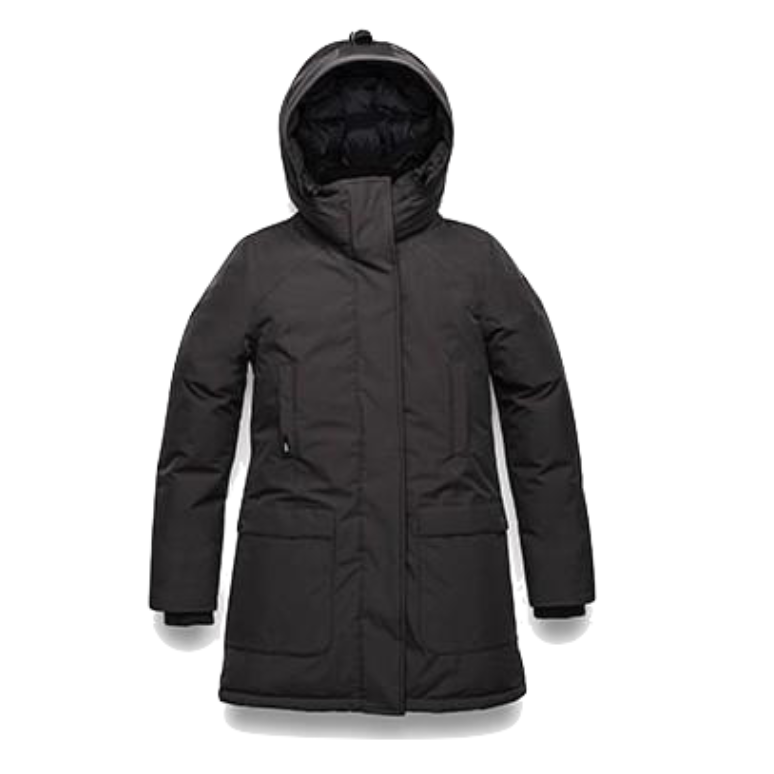 Emily Ladies Parka - Black