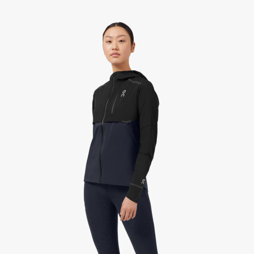 Weather-Jacket Women Black | Navy