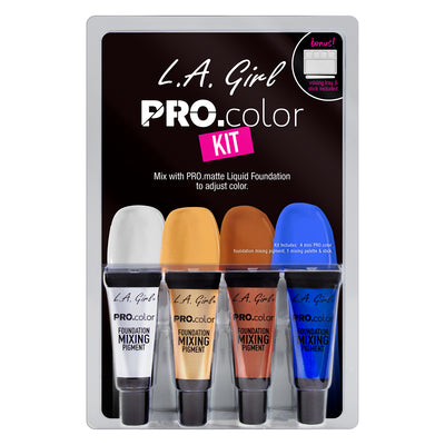 PRO.color Foundation Mixing Pigment Kit