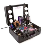 LA Girl Cosmetics -  Light me up! PRO. Studio Train Case