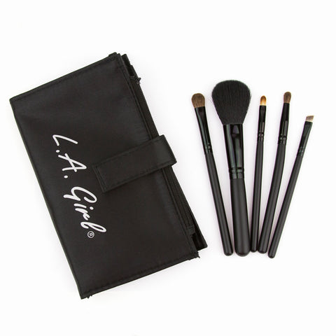 LA Girl Cosmetics -  5 Piece Essential Brush Set
