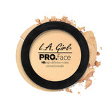 Pro Face Matte Pressed Powder - GPP602 Classic Ivory - LA Girl Cosmetics - 2