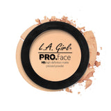 Pro Face Matte Pressed Powder - GPP603 Porcelain - LA Girl Cosmetics - 3