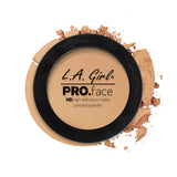 Pro Face Matte Pressed Powder - GPP608 Soft Honey - LA Girl Cosmetics - 8