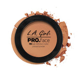 Pro Face Matte Pressed Powder - GPP612 Warm Caramel - LA Girl Cosmetics - 12