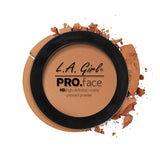 Pro Face Matte Pressed Powder - GPP613 Toffee - LA Girl Cosmetics - 13