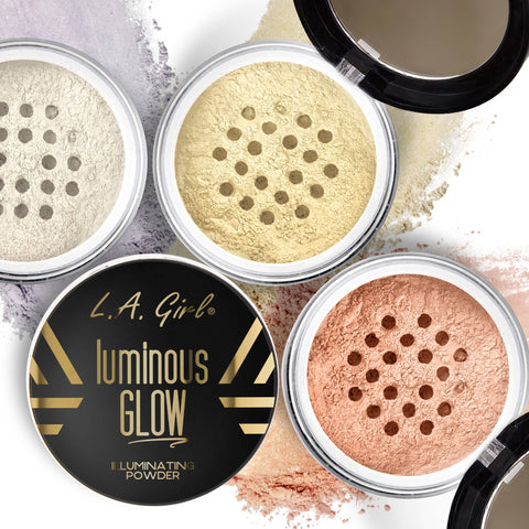 LA Girl Cosmetics -  Luminous Glow Illuminating Powder