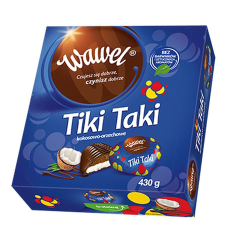 Wawel - Tiki Taki Coconut Cream Chocolates - Polana