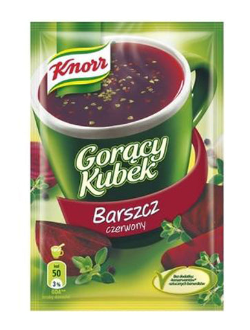 Knorr Goracy Kubek Red Borsch -  in stock from November 11 - Polana