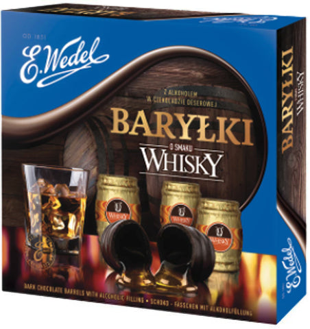 Barylki Chocolates with Whiskey