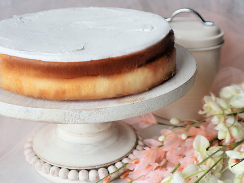 Cheesecake with Cream Glaze - Polana