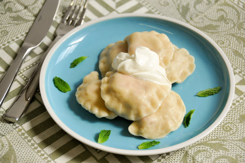 Fruit Pierogi Package: Blueberry, Strawberry, Plum - Polana