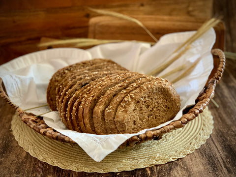 Dark Rye Bread with Oats - Polana