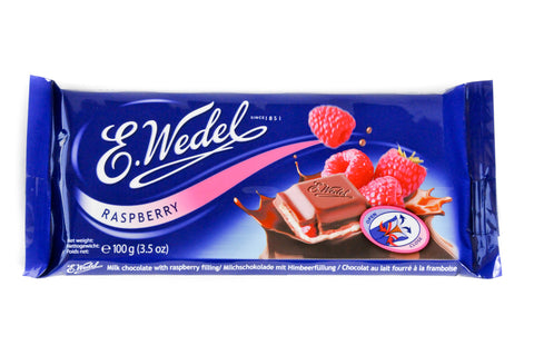 Wedel - Milk Chocolate with Raspberry Filling - Polana