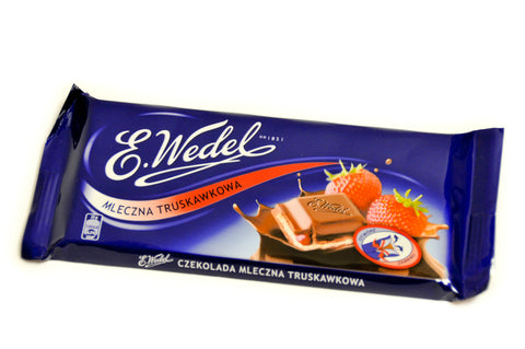 Wedel - Milk Chocolate with Strawberry Filling - Polana