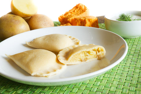 Gluten Free Potato & Cheddar Cheese Pierogi - Polana