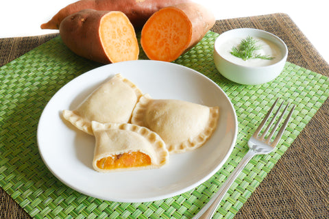 Gluten Free Sweet Potato Pierogi-[polana]