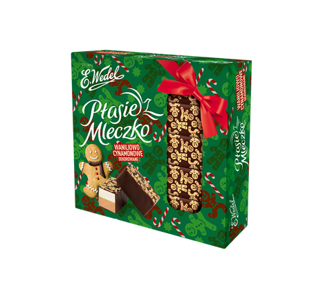 Ptasie Mleczko - Chocolate covered Vanilla-Cinnamon Marshmallow