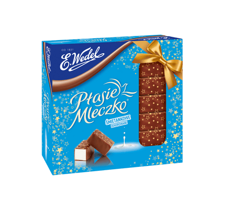 Ptasie Mleczko - Chocolate covered Marshmallow Cream - Polana