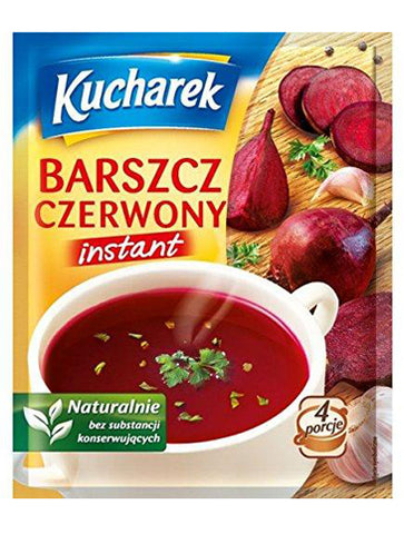 Kucharek Barszcz Czerwony Instant Red Borscht Soup Mix -  in stock from November 11 - Polana