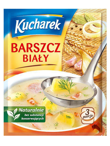 Kucharek White Powder Borsch (barszcz bialy) -  in stock from November 11 - Polana