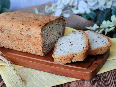 Gluten Free Buckwheat Whole Grain Bread