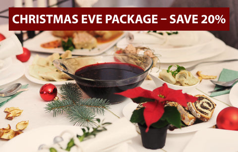 Christmas Eve Package - Serves 5 - 6 - Polana