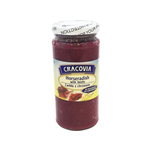Cracovia Horseradish with Beets - 8 oz