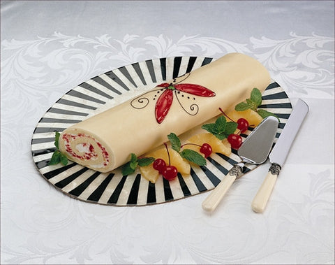 Marzipan Roulade