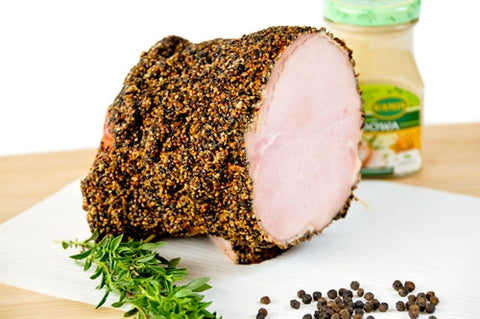 Pepper Crusted Pork Loin - approx 2.5  lb