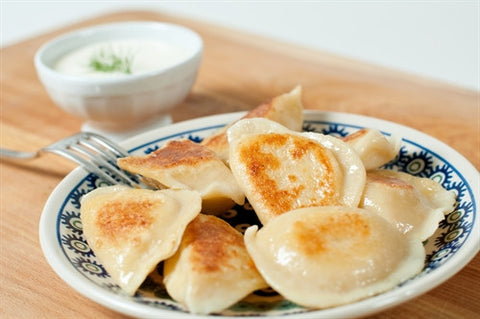 Sweet Farmer's Cheese Pierogi-[polana]