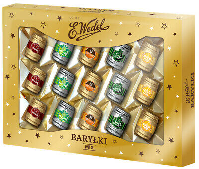 Barylki Chocolates with Alcohol - Polana