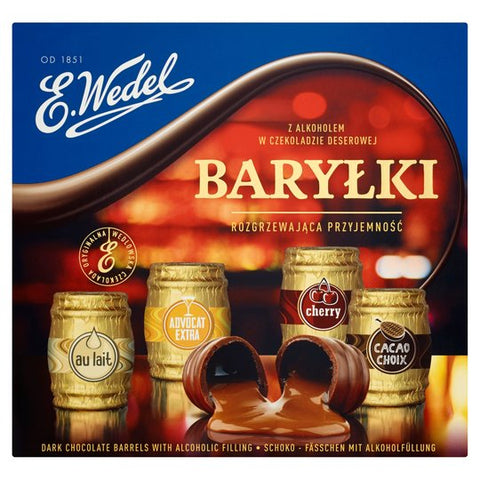 Barylki Chocolates with Alcohol