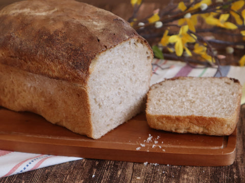 Rustic Sourdough Graham Bread - Square Loaf