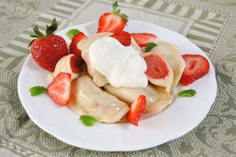 Strawberry Pierogi-[polana]