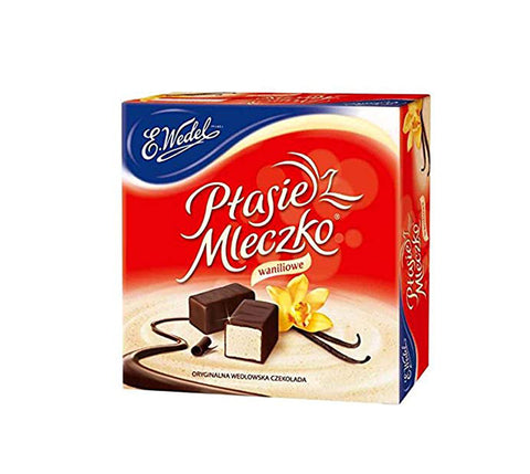 Ptasie Mleczko - Chocolate covered Vanilla Marshmallow - Polana
