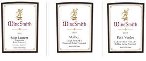 WineSmith SMP New Release Virtual Tasting Sunday, May 23, 21 @ 3PM PST