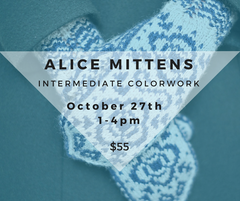 Alice Mittens: Intermediate Colorwork