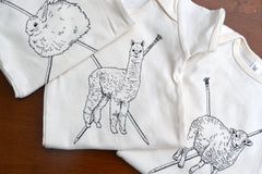 Stash Fiber Friends - Organic Cotton Onesie