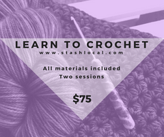 Learn to Crochet (Two Sessions)