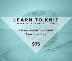 Learn to Knit (Two Sessions)