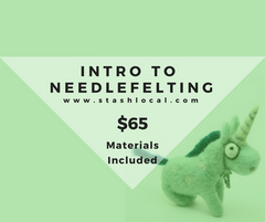 Intro to Needlefelting
