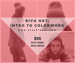 Riva Hat: Intro to Colorwork