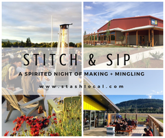 Summer Stitch & Sip