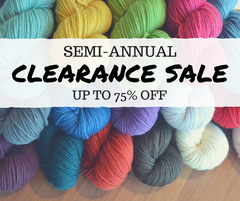 Semi-Annual Clearance Sale