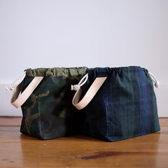 Fringe Supply Waxed Canvas Field Bag
