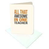 All That Awesome in One Teacher Tags & Card Digital Download Print/Cut SVG & Pdf