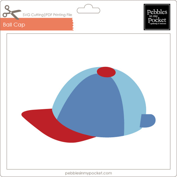 Ball Cap Digital Download SVG & Pdf