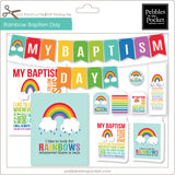 Rainbow Baptism Bundle Digital Download Print/Cut SVG & Pdf